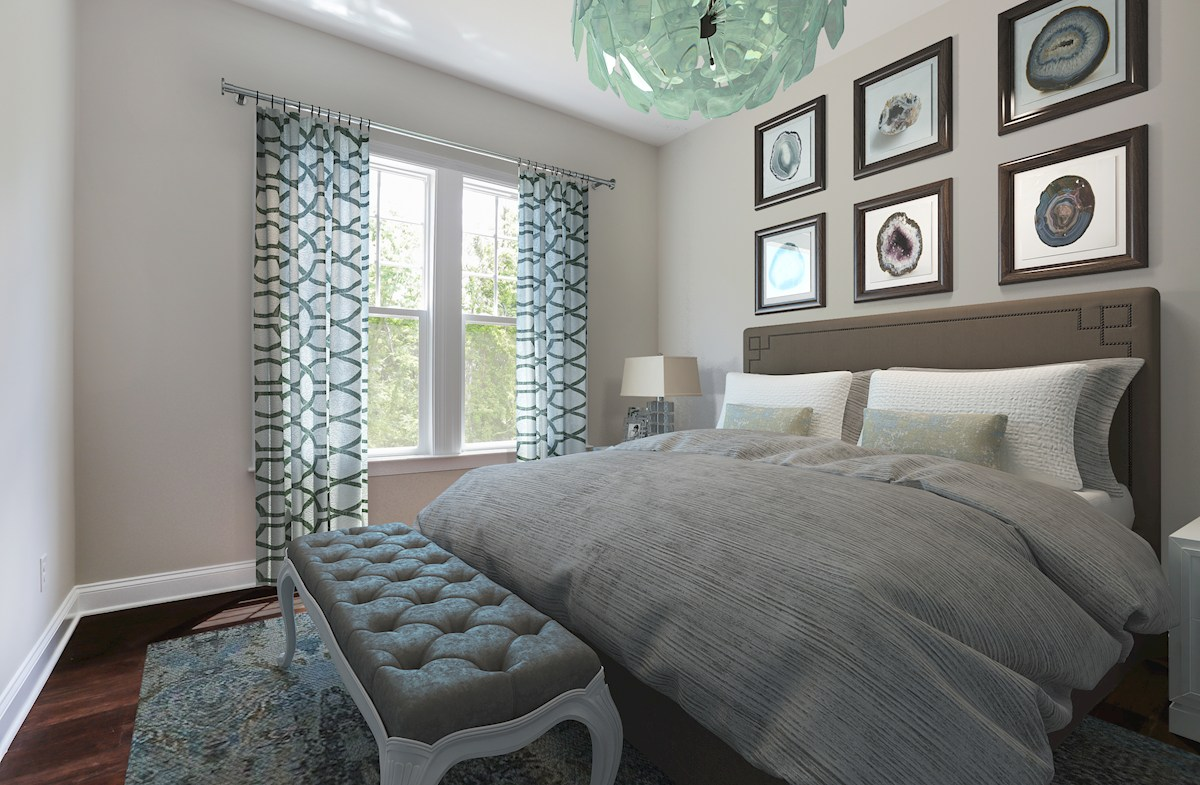 Willowsford Daventry guest bedroom