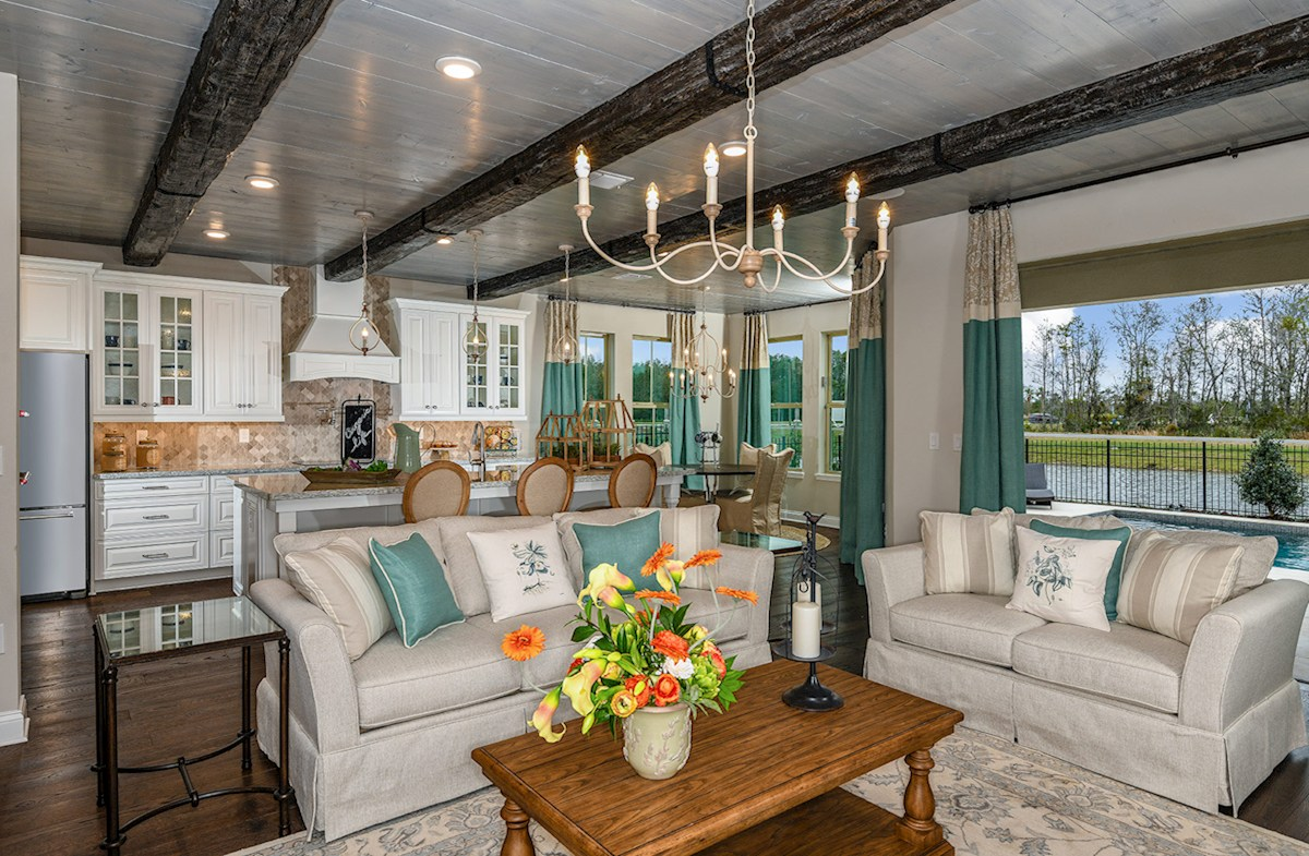 Lakeshore of Wekiva Wilson light-filled great room