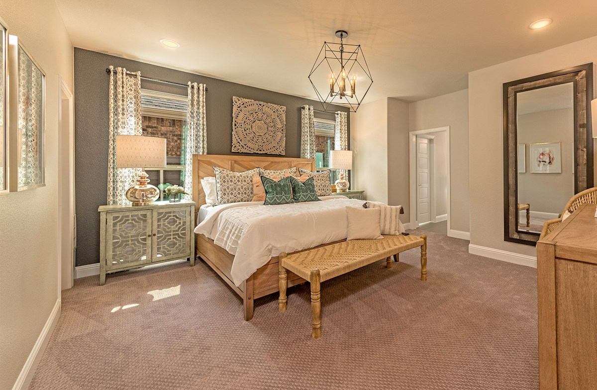 Brenham master bedroom