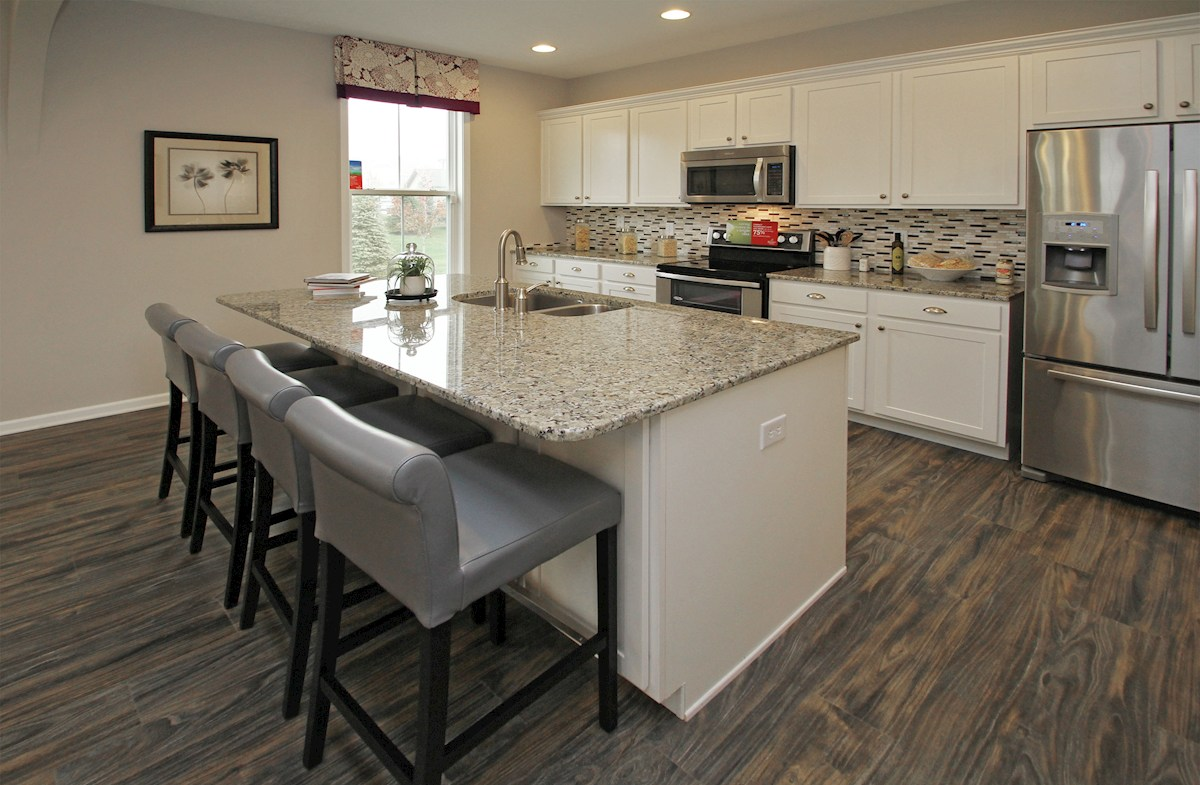 Bradley kitchen with quartz countertops