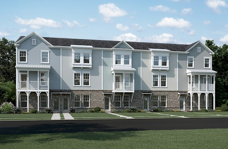 Townhomes exteriors