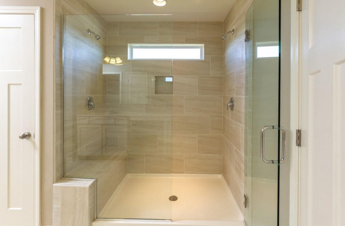 Porter quick move-in Spa shower in master bath