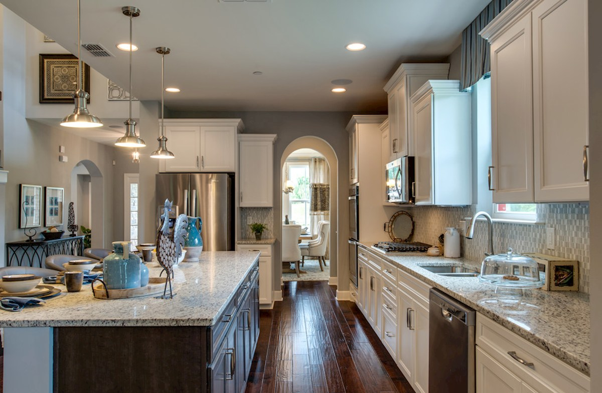 Hillwood Dogwood chef-inspired kitchen