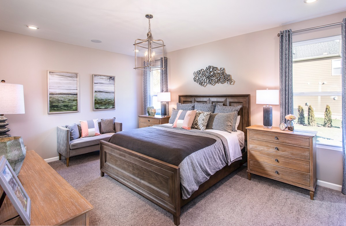 gracious master bedroom