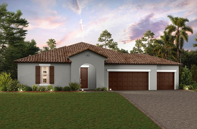 Cypress Elevation Spanish Colonial L