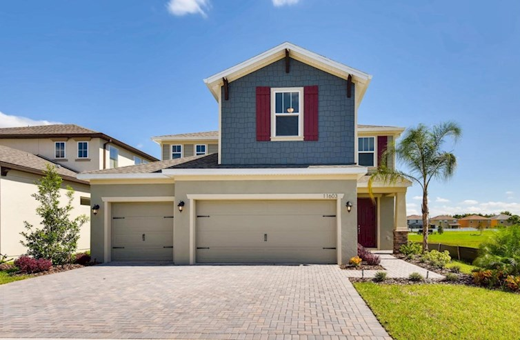 Lucia Bay Elevation Arts & Crafts L quick move-in