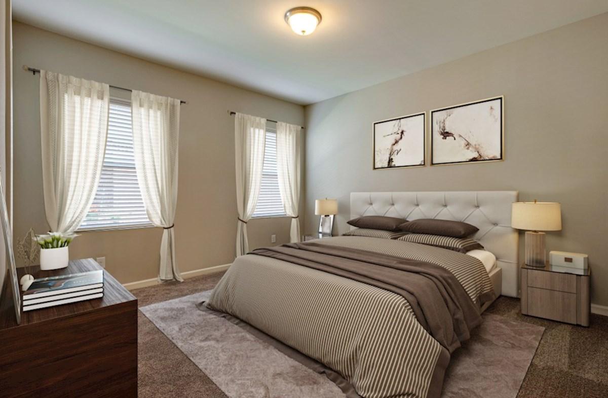 Magnolia Farms Finley gracious master bedroom