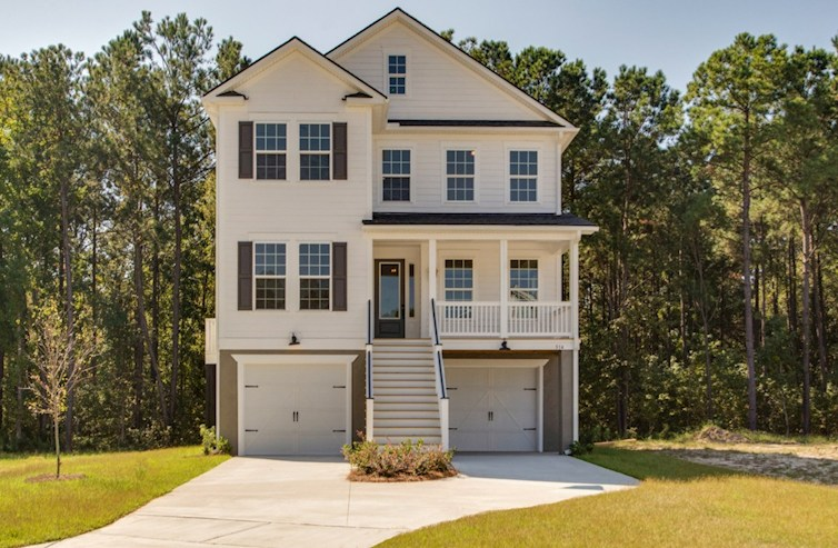 Archdale Elevation Traditional M quick move-in