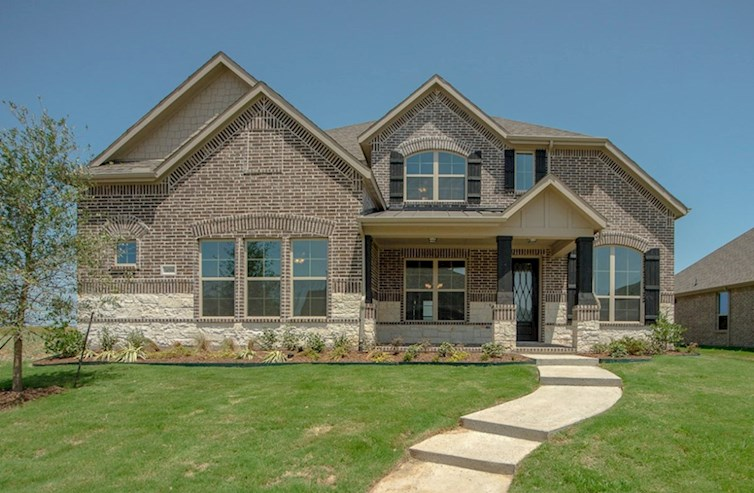 Madison Elevation French Country M quick move-in