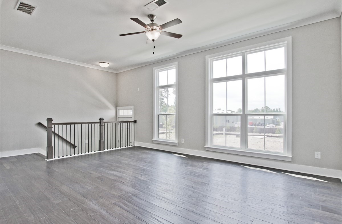 Callahan II quick move-in Living Room with hardwood floors