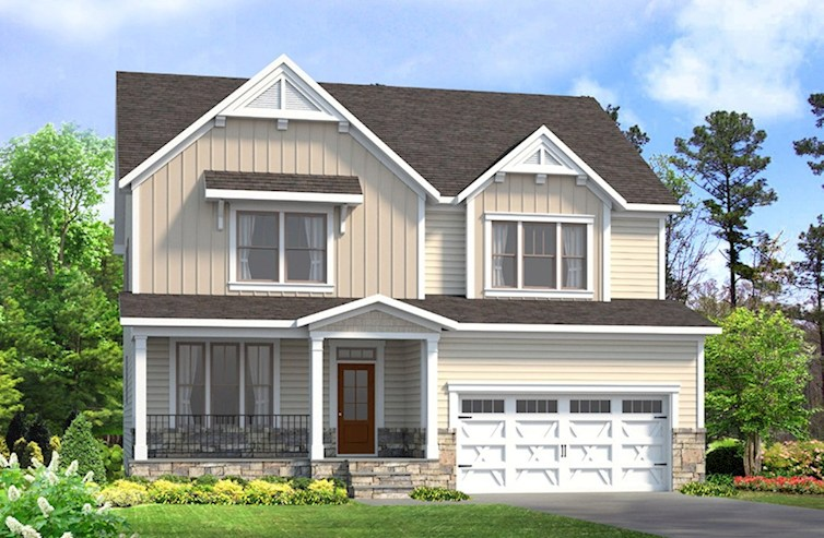 Somerset Elevation Farmhouse M quick move-in