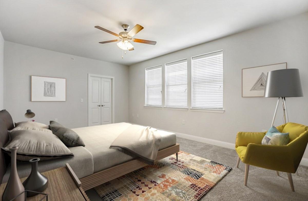 Gatherings® at Indian Lake Wiltshire gracious master bedroom