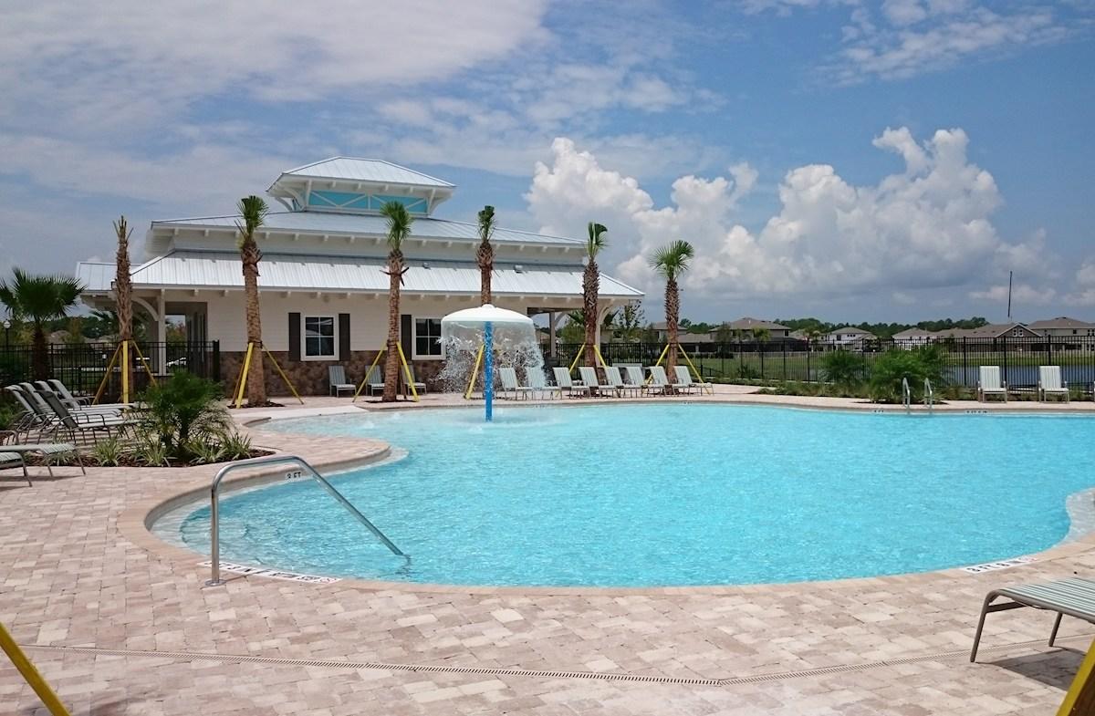 Community resort-style pool