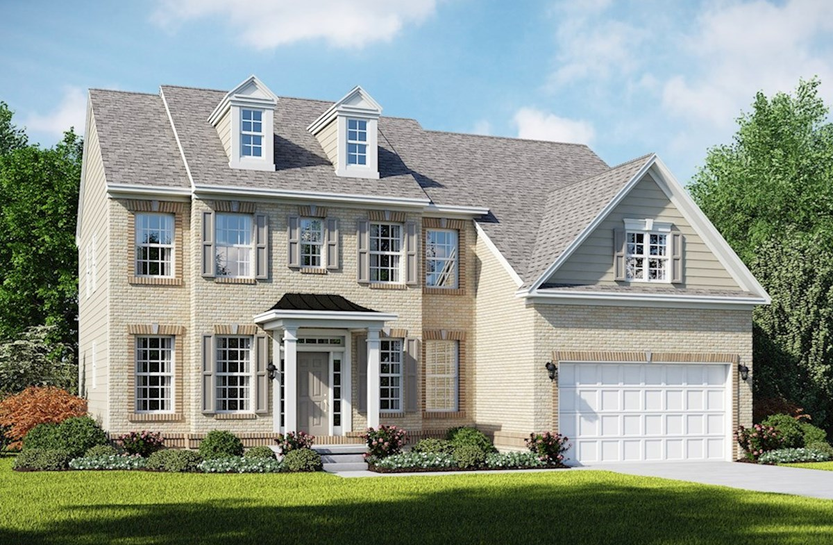 Brookview D with full brick