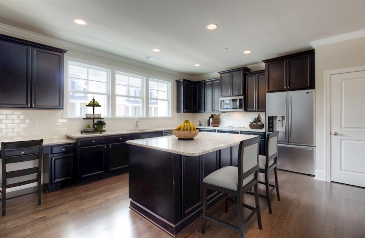 Highland Park Preston Kitchen with granite countertops