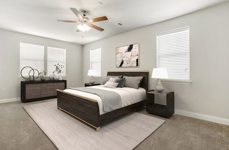 Gatherings® at Indian Lake Sherwood spacious master bedroom