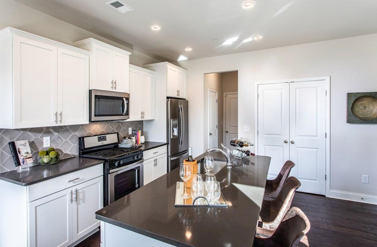 Spring Creek Place Lexington Kitchen with quartz counters