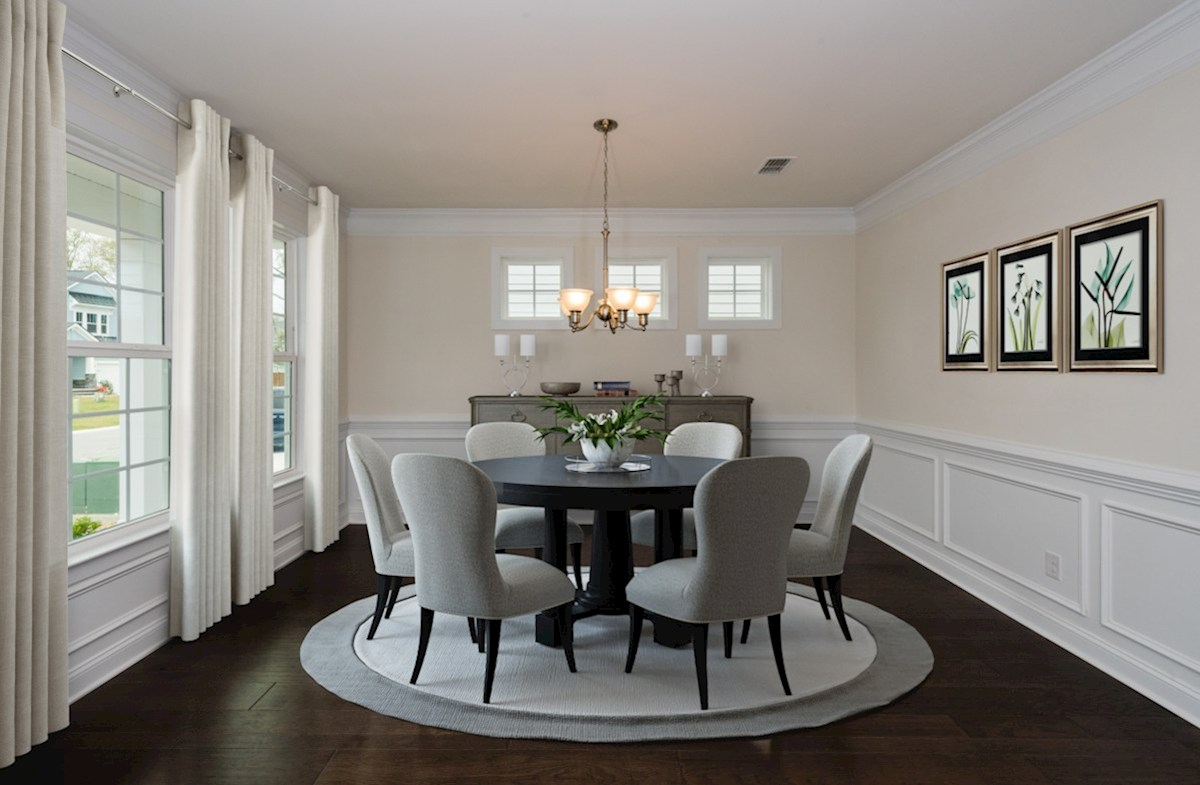 Jasmine Point at Lakes of Cane Bay Sweetgum formal dining room