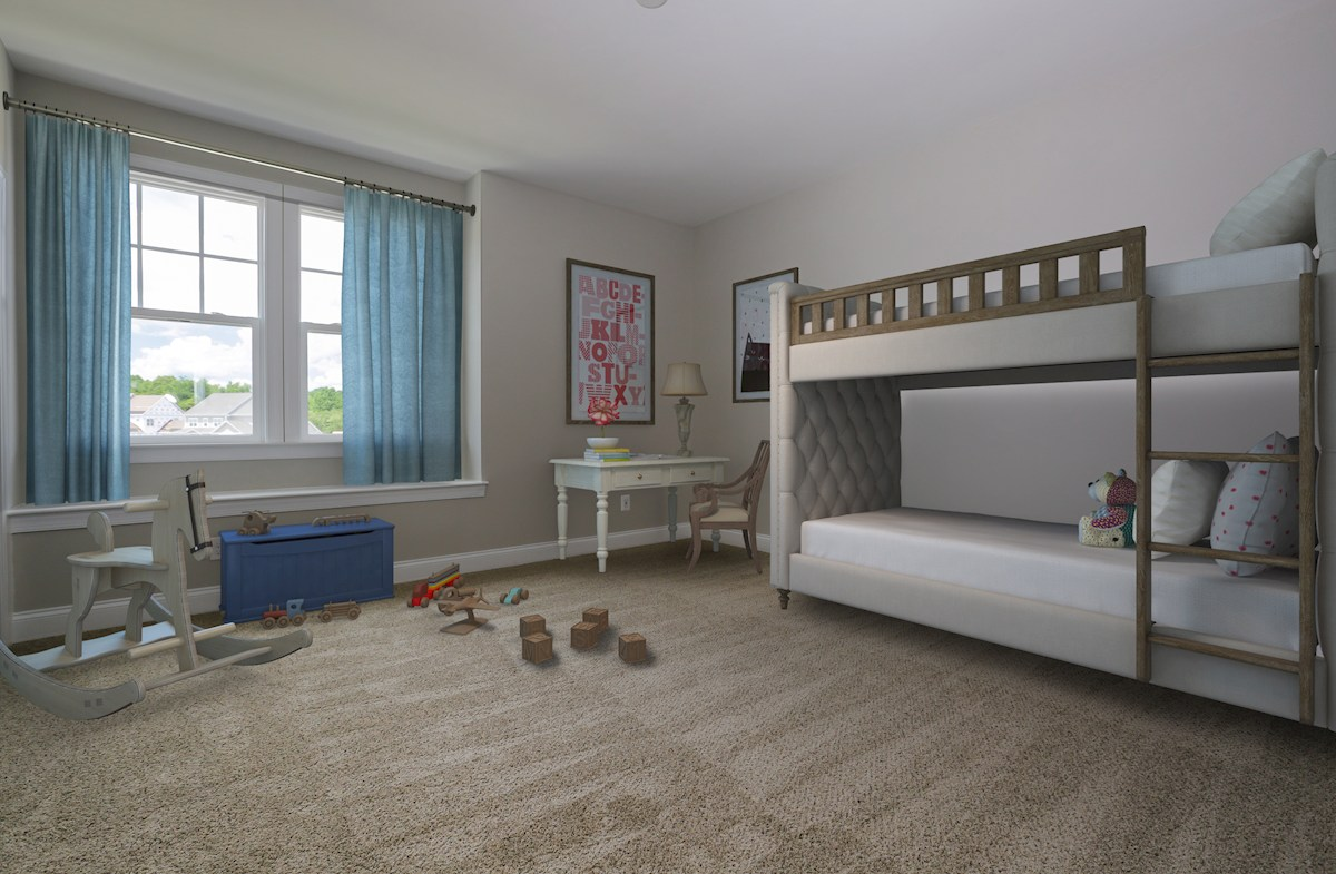 Willowsford Daventry spacious bedroom