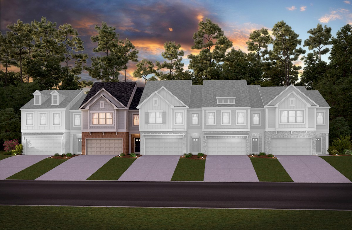 Townhome Front Elevation