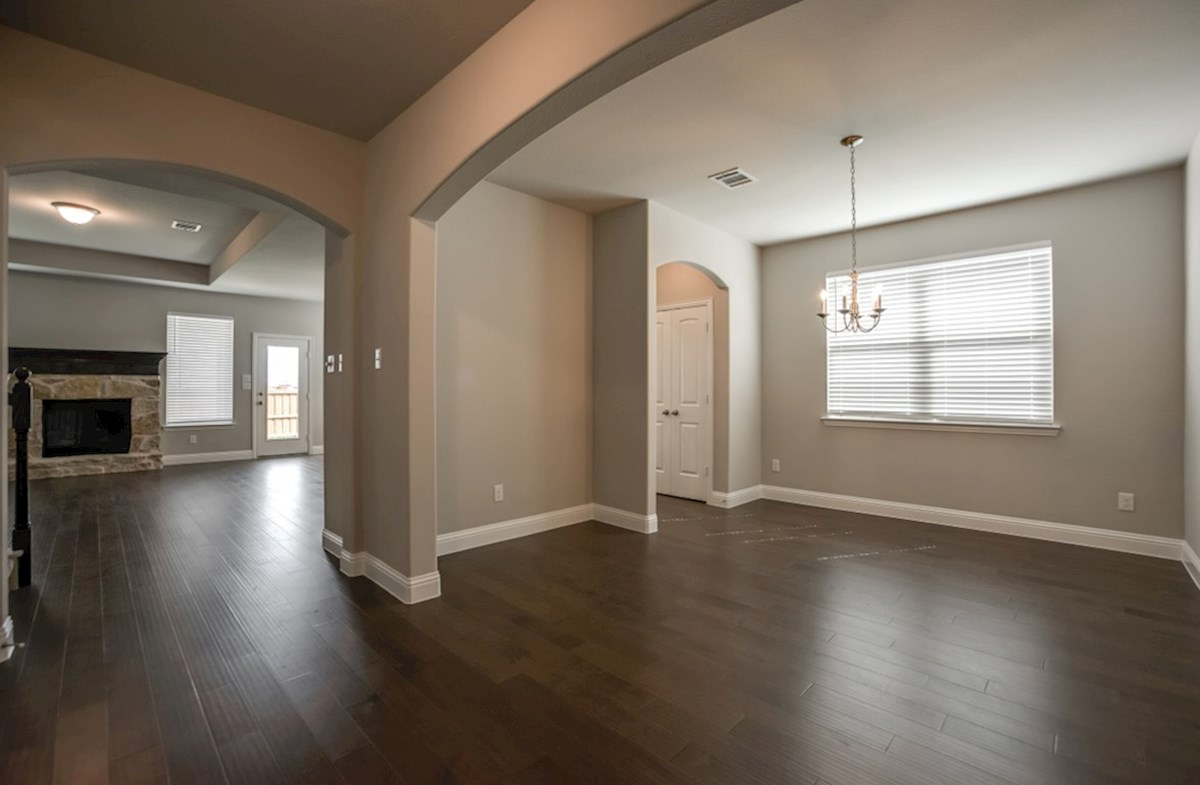 Avalon quick move-in formal dining room with wood flooring