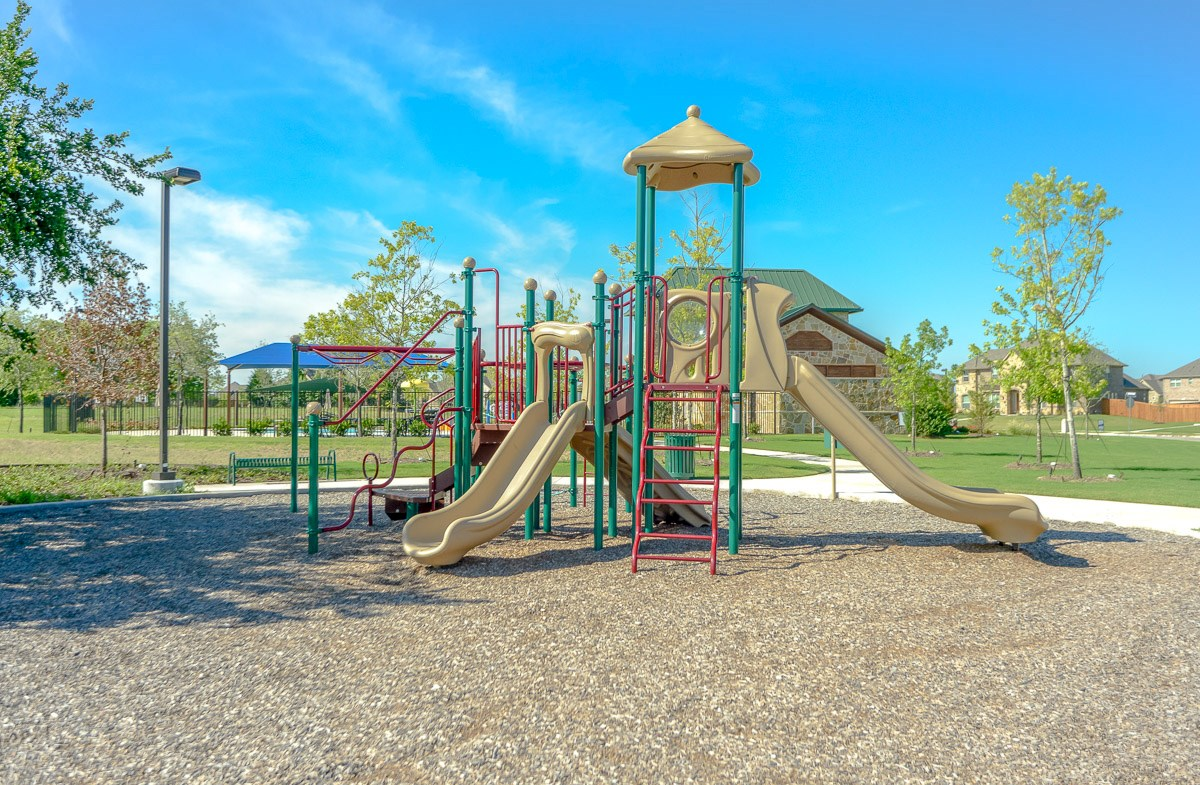 Large play area for the kids