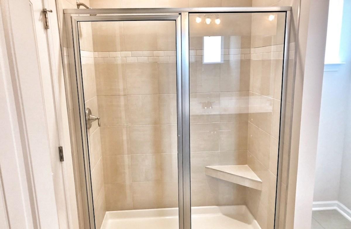 Georgetown quick move-in walk-in-shower in master bathroom