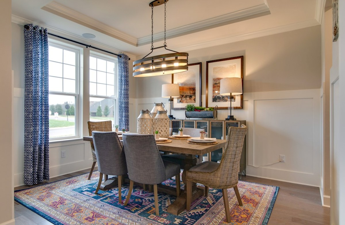 Dogwood quick move-in elegant dining room
