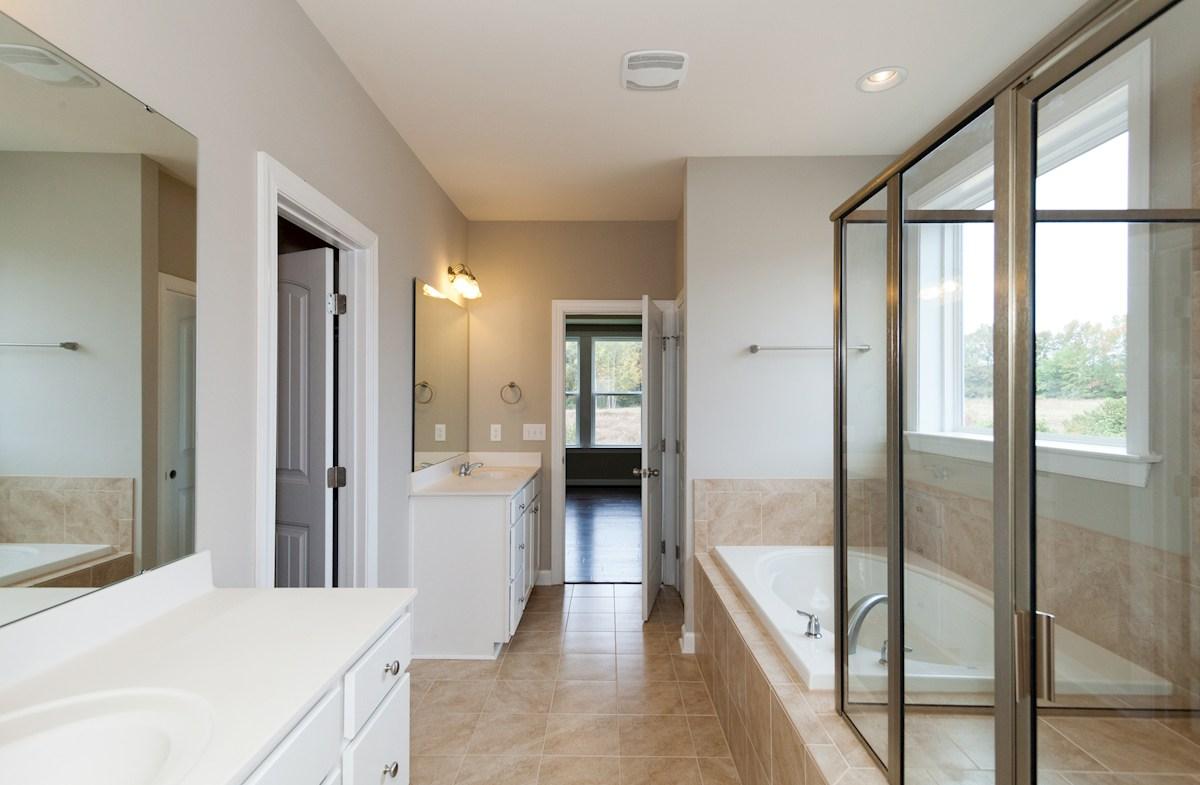 Cypress Meadow Lexington relaxing master bathroom