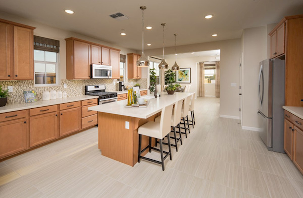 Natomas Field Residence 4 open-concept kitchen