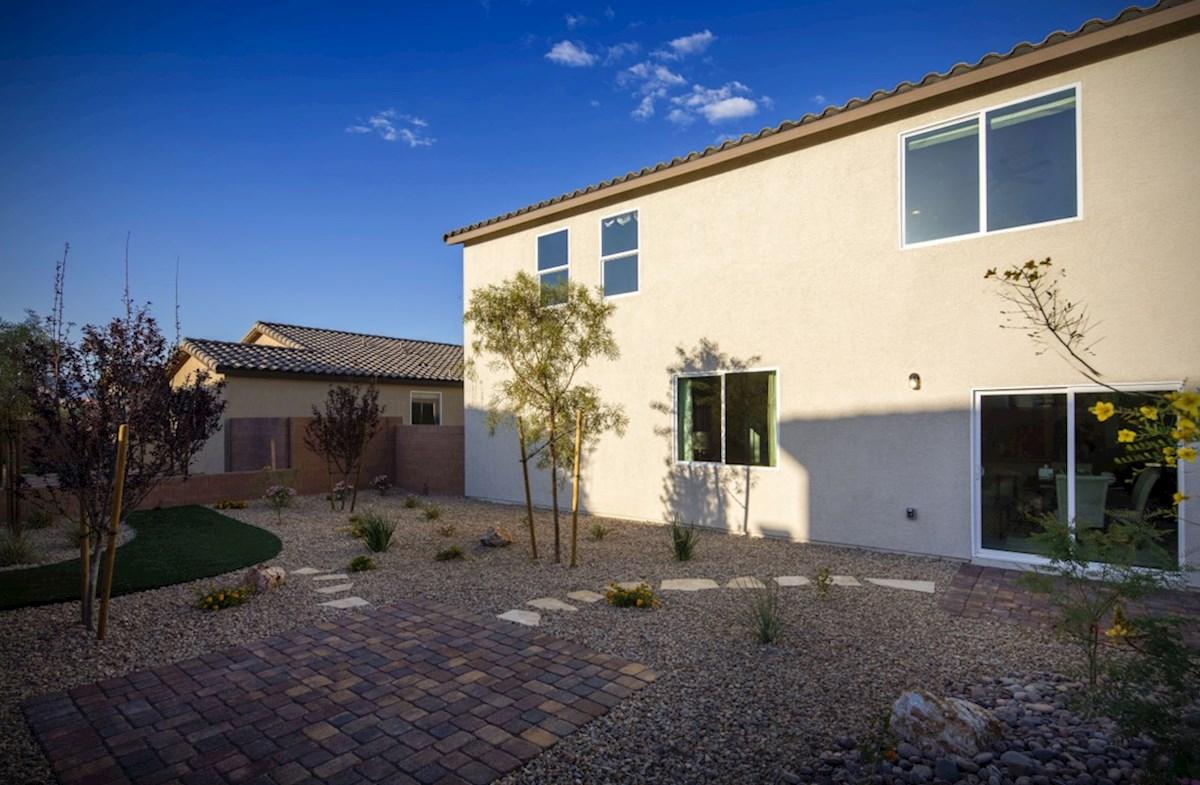 Colton Ranch Sienna spacious backyard for an outdoor living space