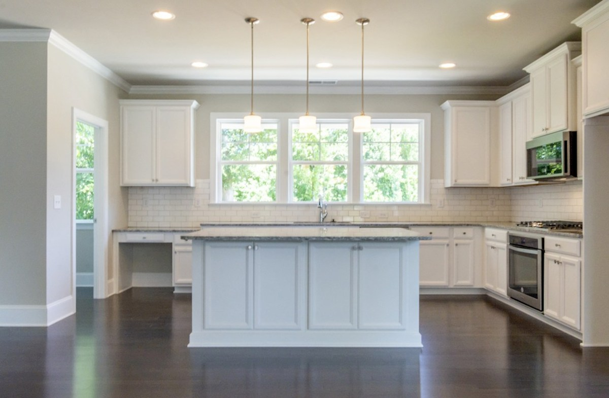 Preston quick move-in Kitchen with pendant lighting