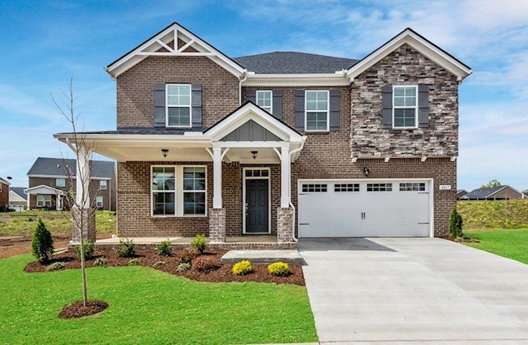 Landon Elevation French Country L quick move-in