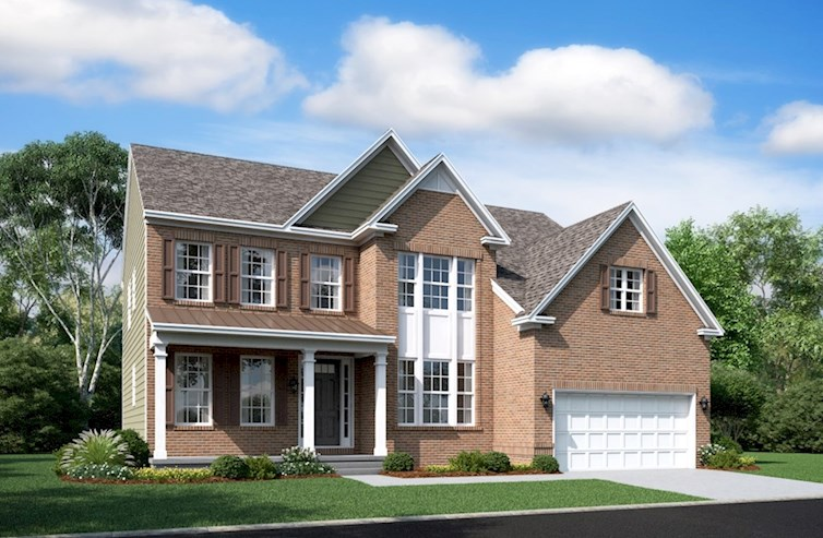 Brookview Elevation Traditional N