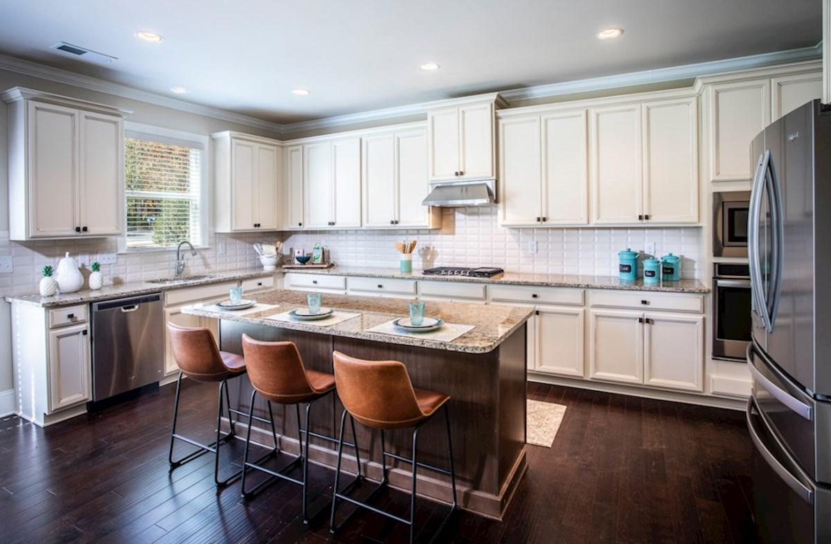 Cambridge quick move-in Kitchen with granite countertops