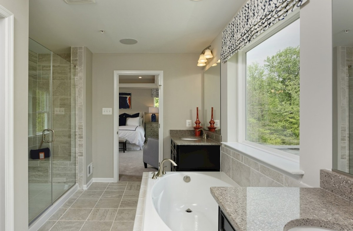 Enclave at Westmount Nottingham Nottingham Master Bathroom