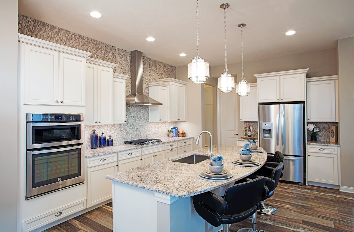 Charleston kitchen with spacious island