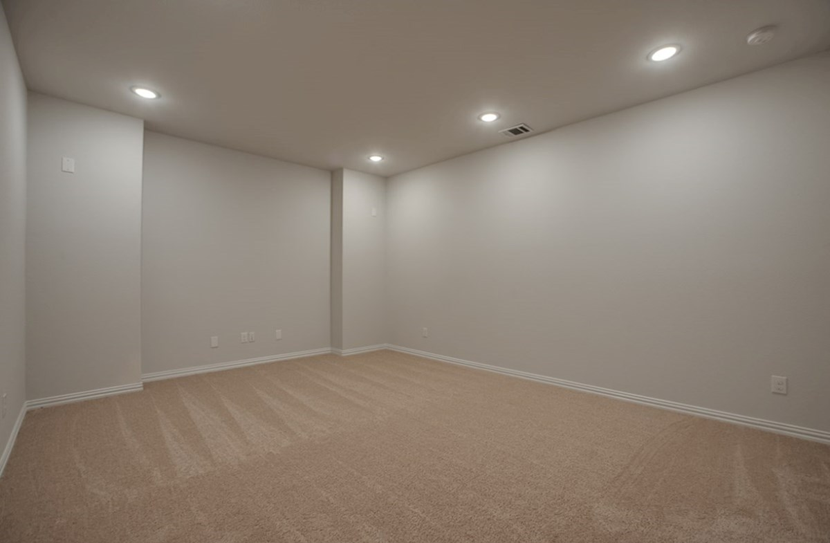 Madison quick move-in large media room with carpet