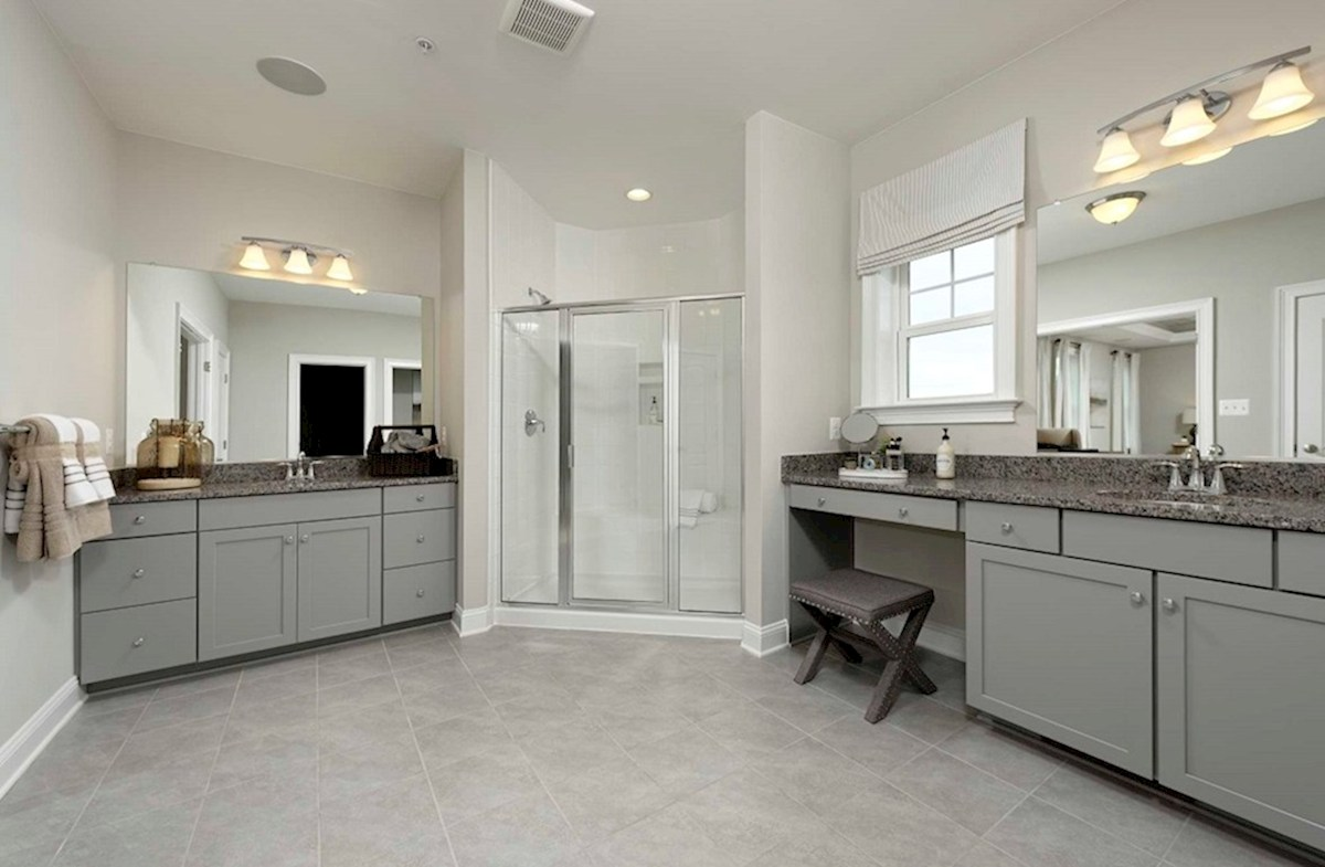 Enclave at River Hill Pembrooke Pembrooke Master Bathroom