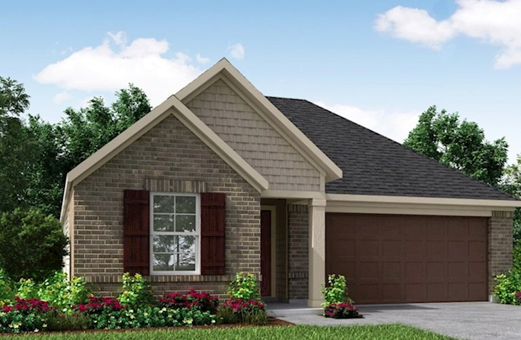 Maxwell Elevation French Country N