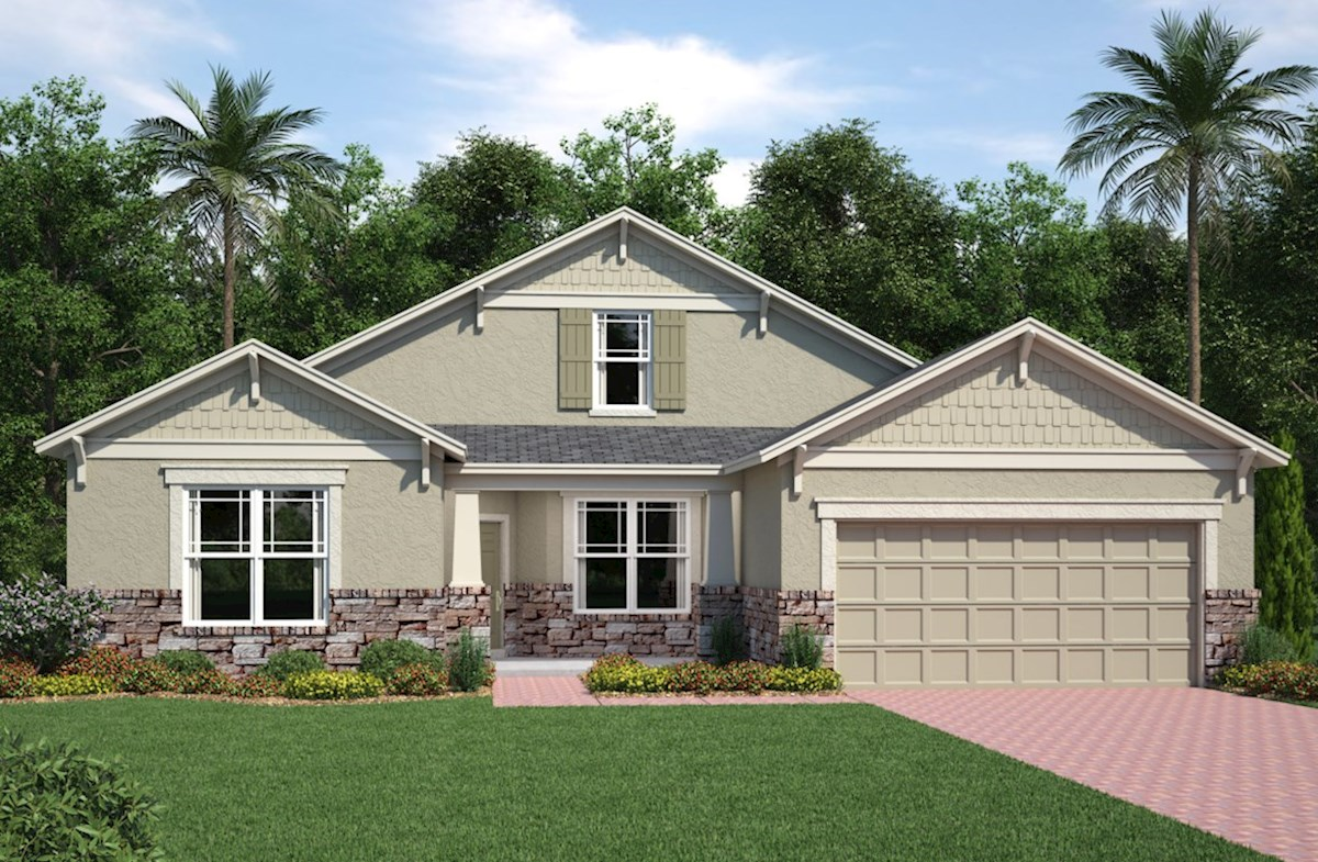 Ashwood home plan in reserve at sawgrass orlando fl for Ashwood homes