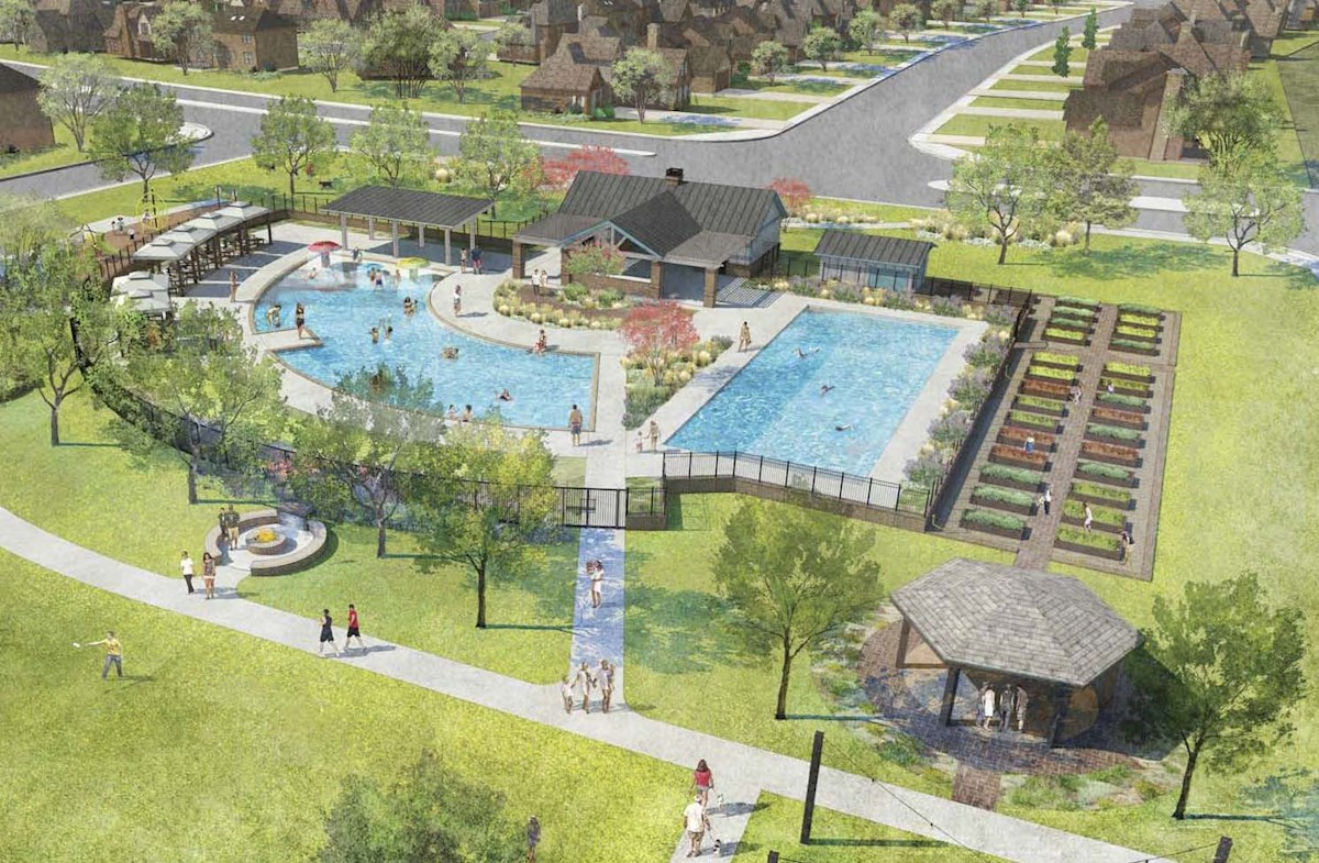 Amenity center with pool coming 2019