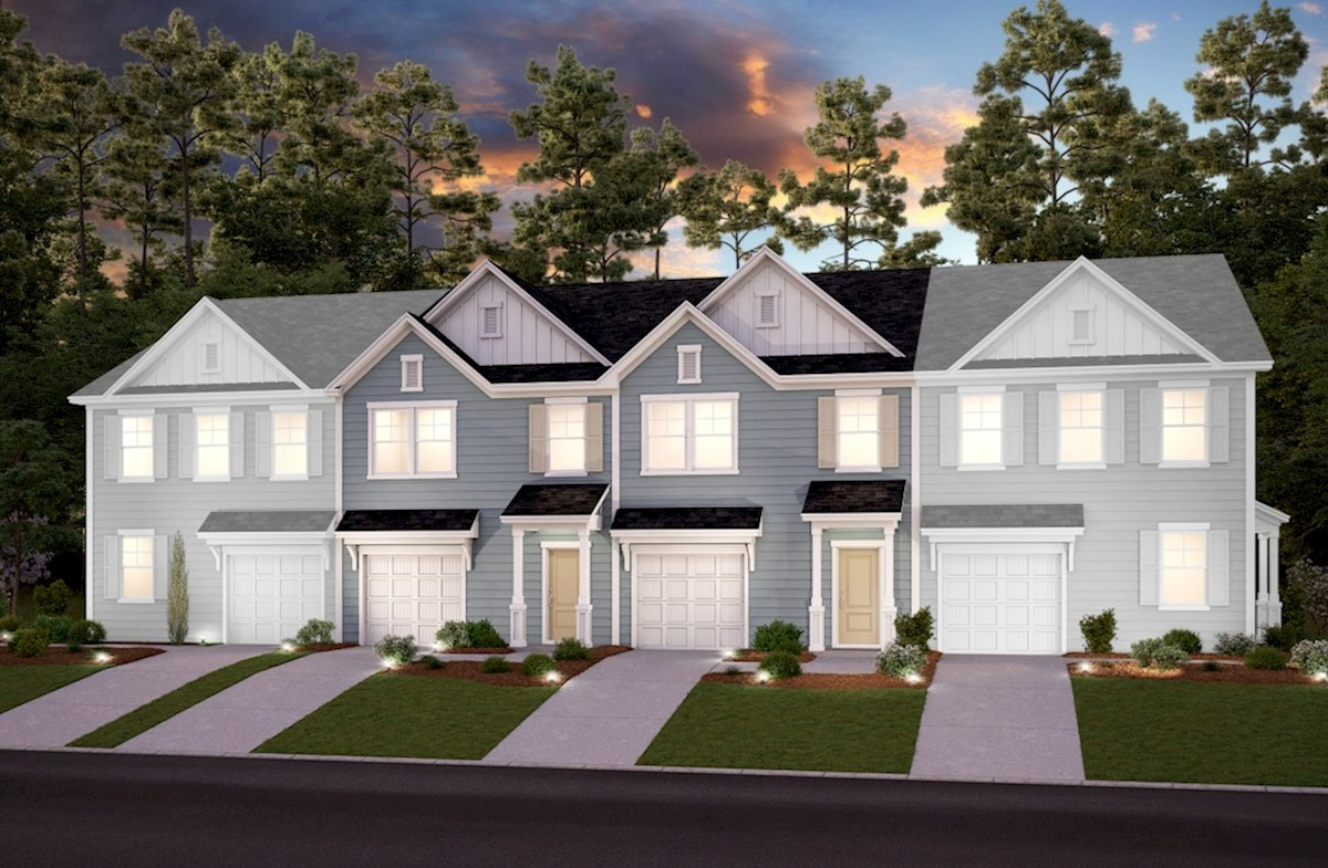 Brookwood Elevation Traditional A