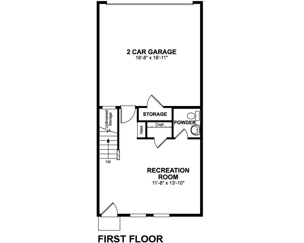 1st Floor floor plan