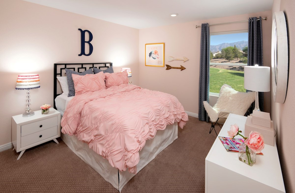 Colton Ranch Sienna inviting secondary bedroom in Sienna