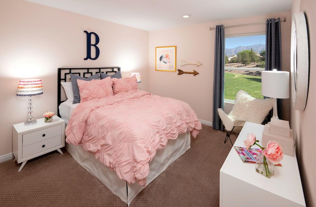 Dorrell Estates Sienna inviting secondary bedroom in Sienna
