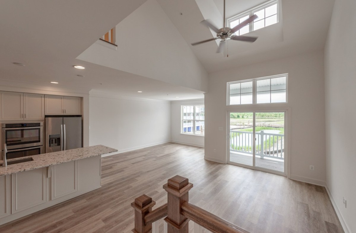Fenwick quick move-in Hardwood floors throughout the kitchen, dining, and living room