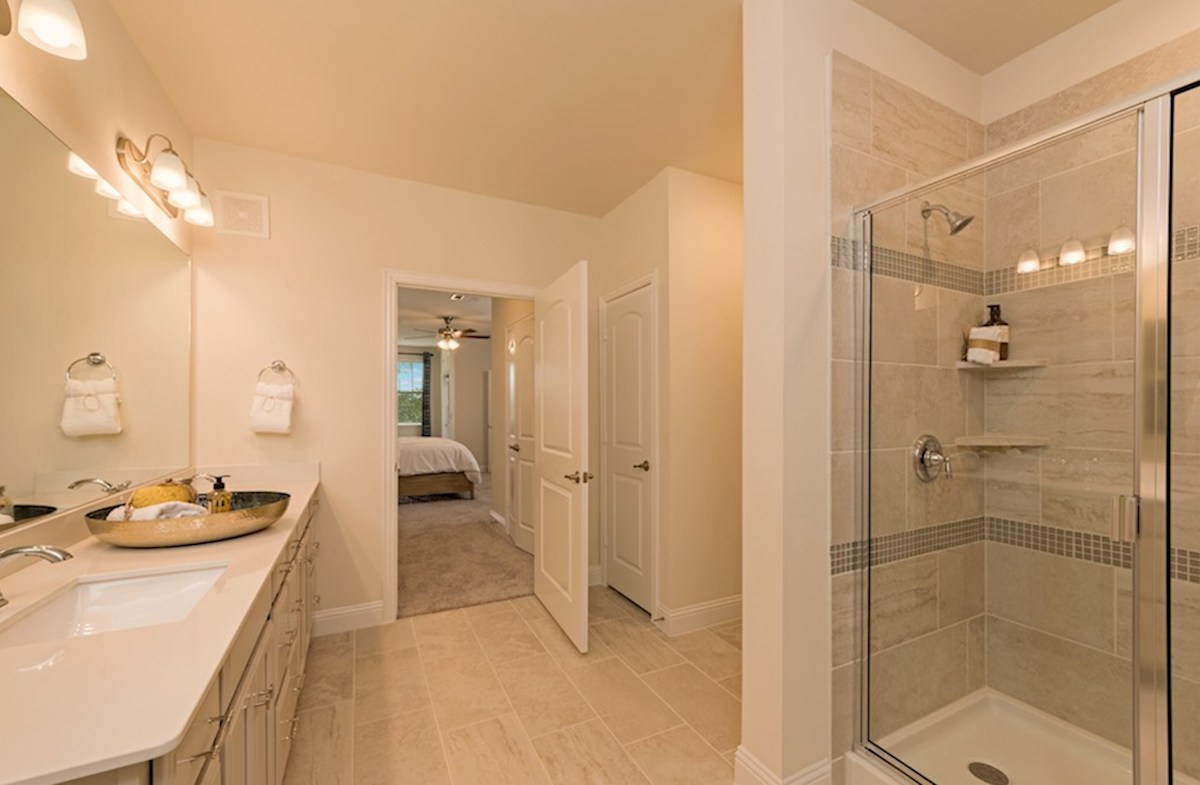 Gatherings® at Mercer Crossing Clifton Clifton Master Bath