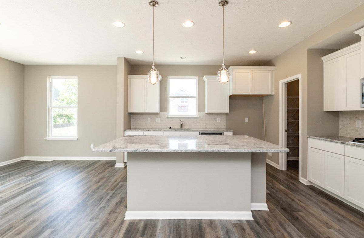 Shelby quick move-in  kitchen with quartz countertops