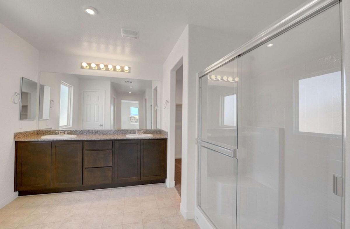 Sienna quick move-in Burson Enclave, Pahrump, NV Sienna  Master Bathroom